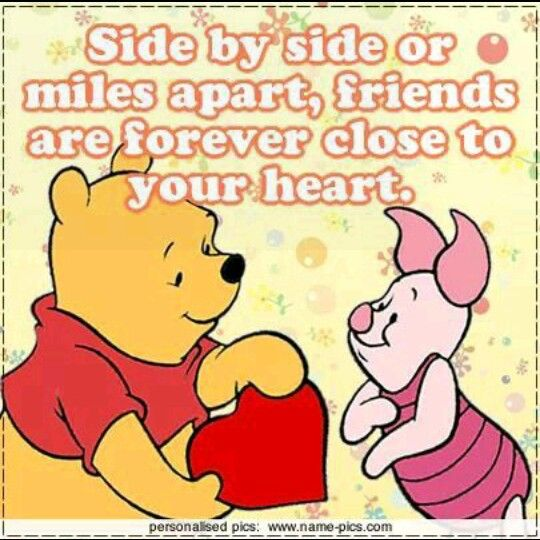 Pooh Quotes About Friendship: 25+ Best Bff Quotes On Pinterest