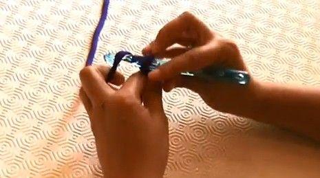Videotutorial: Aprender a hacer punto de cadeneta  #crochet #diy #handmade #trapillo