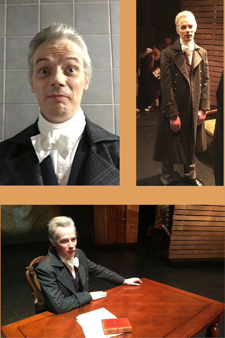Me as 'Alexander Hamilton' shooting a TV show for #EBS in #Korea