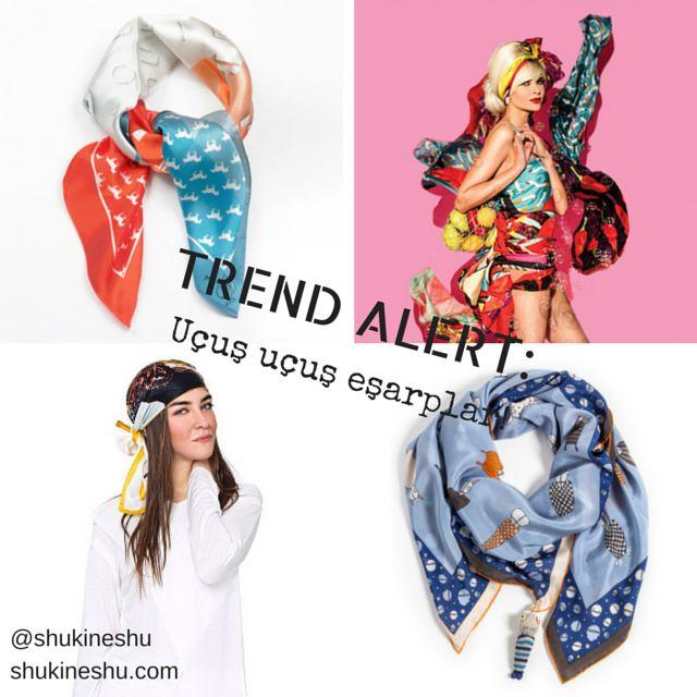 Yeni Trend'de Fantastik Dörtlü: Aykırı Eşarp Modelleri #trend #accessories #style #fashion #scarf #eşarp #shukineshu