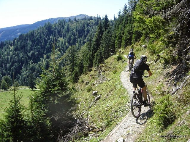 veel mooie plekken om te mountainbike