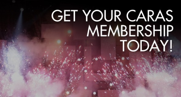 Get your CARAS membership today! Vote, get discounts on submissions, tickets and more!