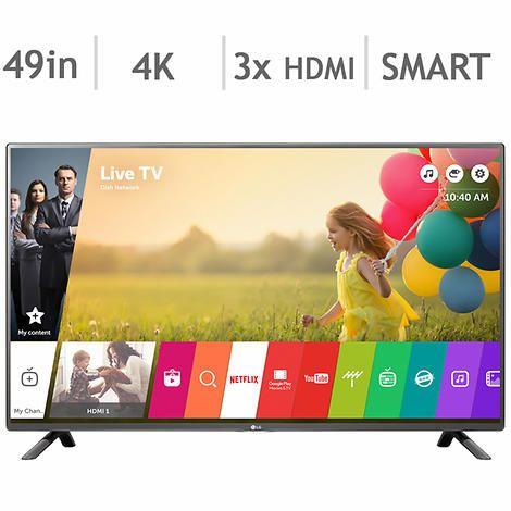 LG 49UH6100 49-in. Smart 4K Ultra HD LED TV