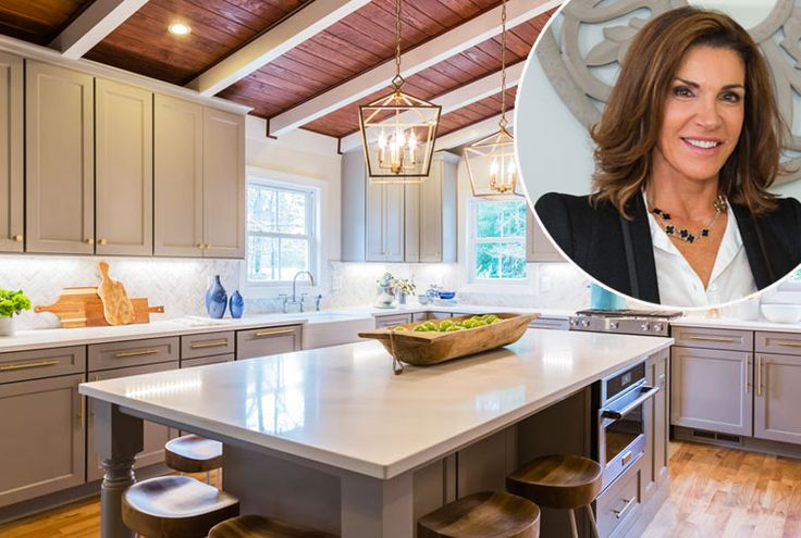 12 Stylish Kitchen Designs Only Hilary Farr Could Pull Off
