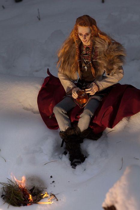 Amazing Loki doll of norse mythology *-* GINGER FEELS...Loki was actually ginger in Norse mythology