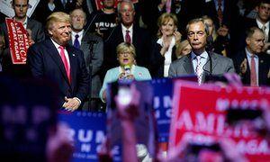 Donald Trump and Nigel Farage https://en.wikipedia.org/wiki/European_Union