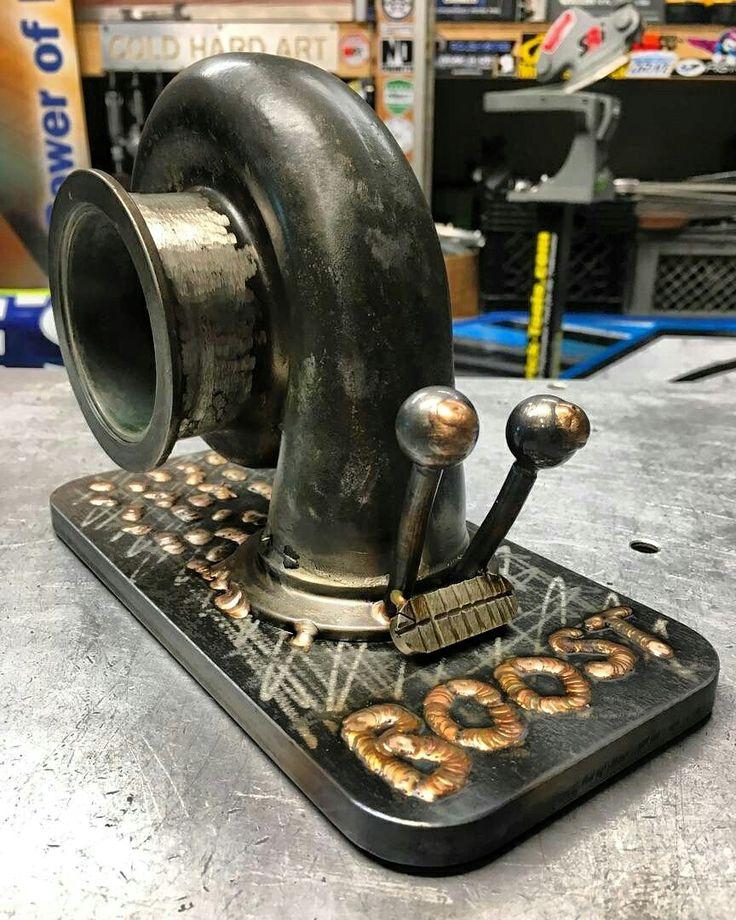 Snail turbo boost metal art cold hard art
