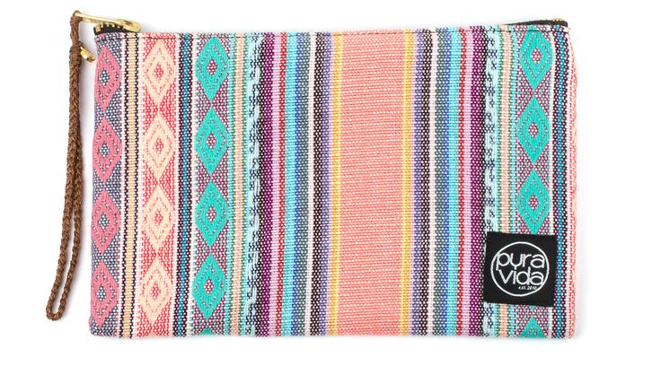 Statement Clutch - Travel Patch On My Soul by VIDA VIDA