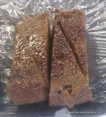 jamaican_potato_pudding: On Saturday, 7/13/13 I posted a picture on our Facebook page with this question, When last have you had a slice of this? Delectable Jamaican Potato Pudding?
