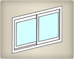 Sliders: These windows open horizontally. On a single slider, only one side operates. On a double slider, both sides operate. We make a variety of sliding windows which can also be tilted in, swing in, or lifted out for easy cleaning.