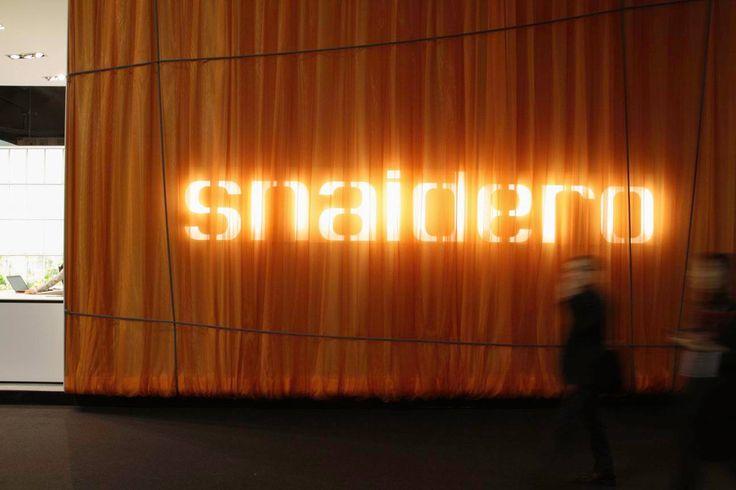 Stand Snaidero at #Eurocucina #Isaloni 2016.