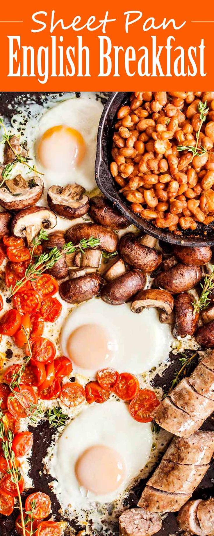 Sheet Pan English Breakfast Recipe | SimplyRecipes.com