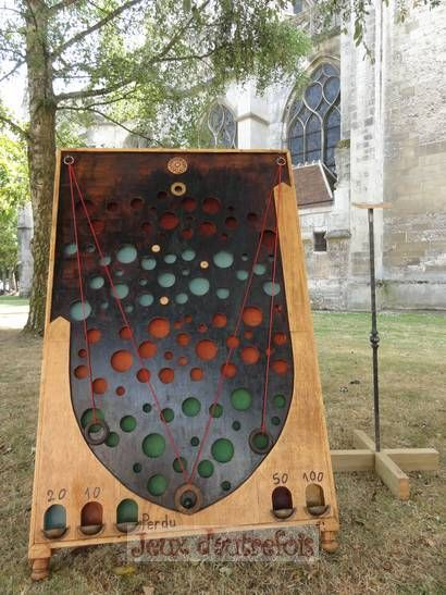 Jeux d'autrefois - Location Animation Jeux anciens en bois à Mérignies dans le Nord Pas de Calais