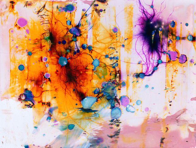 Phillip Stearns imagine de magnifiques visuels, à l'aide d'une pratique pour le moins étonnante : il applique divers produits chimiques ména...