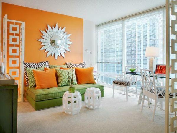Die Besten 25+ Orange Wohnzimmer Ideen Auf Pinterest | Grau Orange ... Wohnzimmer Ideen Orange
