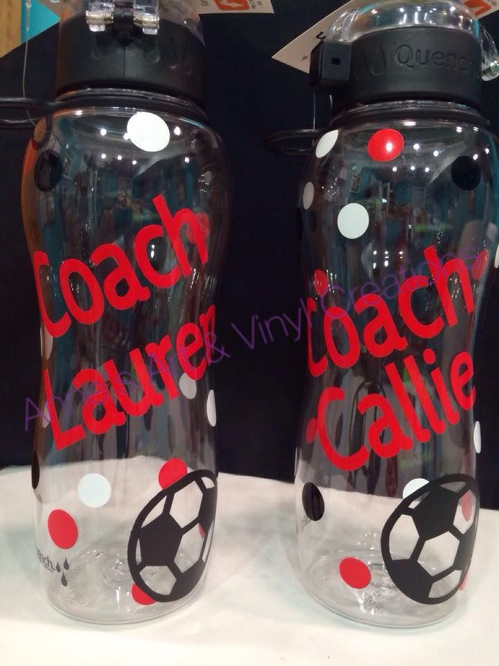 Soccer coach gifts with or without polka dots