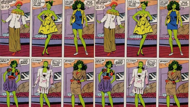 She was a 1980s fashion icon in Marvel Comics