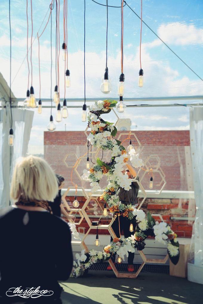 Rachel + Phil - Melbourne Rooftop wedding