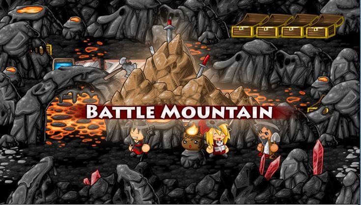 epic battle fantasy 4 lance    The entrance screen of Battle Mountain, including the area logo.