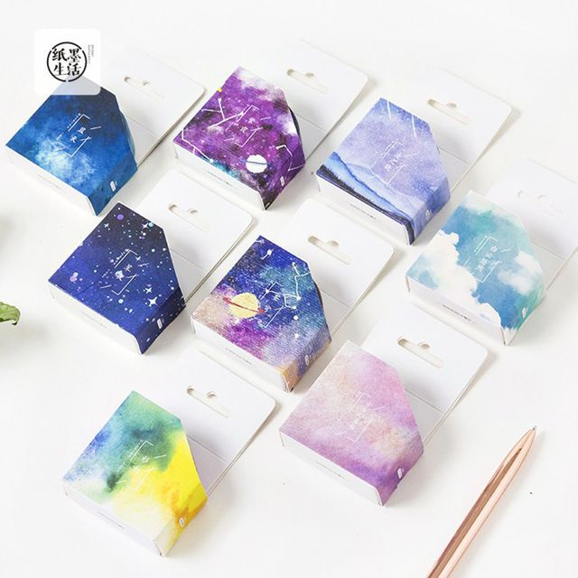 7 Meters Long Fantastic Galaxy Star Sky Paper Washi Tape Masking Tape DIY Craft Stick Label School Office Supply-in Office Adhesive Tape from Office & School Supplies on Aliexpress.com | Alibaba Group