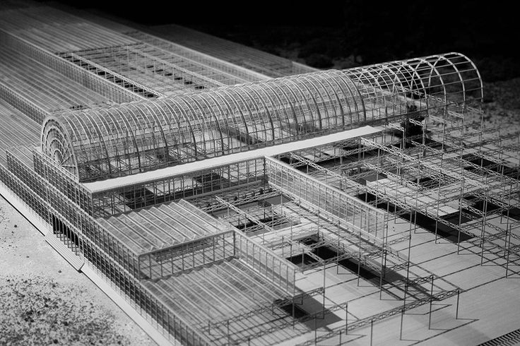 The Crystal Palace, scale model  Joseph Paxton  1851