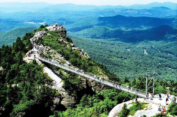 Grandfather Mountain, NC | Landmarks in North Carolina | Pinterest