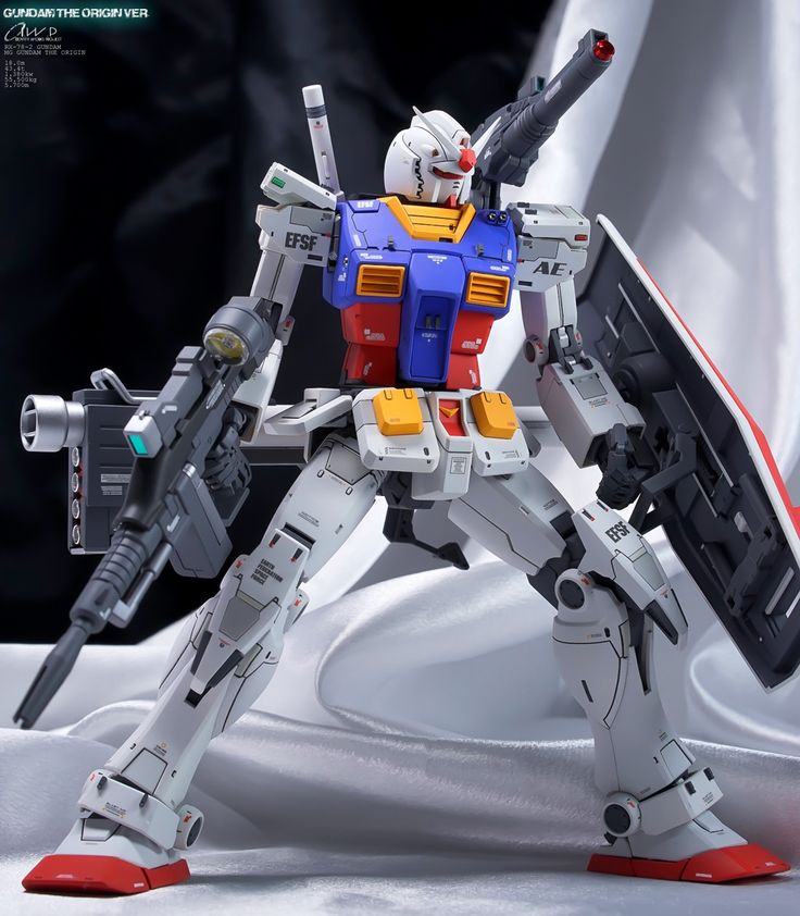 Identity Works's IMPROVED MG 1/100 RX-78-02 Gundam (Gundam The Origin Ver.) Full REVIEW Big Size Images   GUNJAP