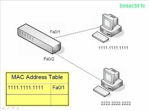 CCNA How Switches Learn MAC Addresses - YouTube ITN 5.3.1.2