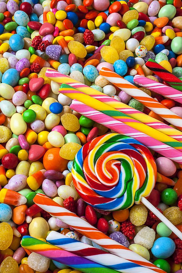 This is a candy pit. You won't get a pink eye, but you may have to start eating your vegetables.