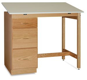 ... With SMI Flat Files To Create The Perfect Office Or Craft Room  Configuration, The SMI Pedestal Desk Is Available In Standard Desk Height  Or Drafting ...