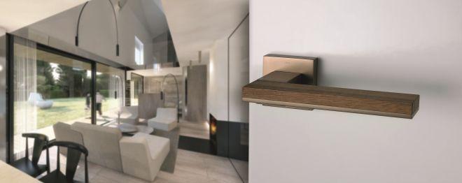 Moderní interiérové kování MT