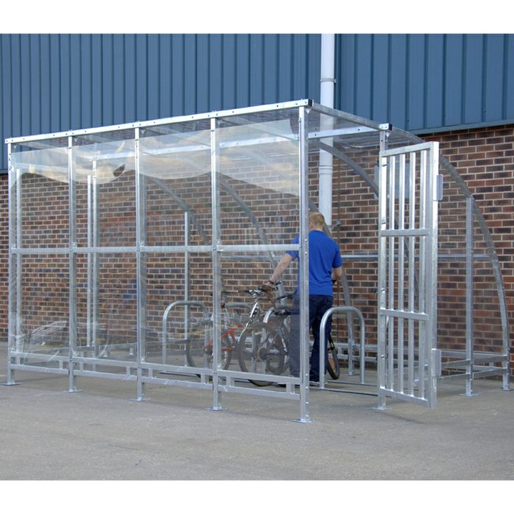 Model SCKP3032GOJ #Secure Kenilworth #Cycle #Shelter All the benefits of the Kenilworth #shelters shown opposite but with the added #security of #lockable door Complete with covered front panel and side gate Offers floor to roof level protection A range of aesthetically pleasing, curved cycle shelters that are ideal for #schools and #colleges #Tough and #robust with vandal #resistant features See more at…