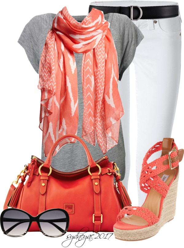 """""""Wedges for Spring"""" by sydneyac2017 ❤ liked on Polyvore"""