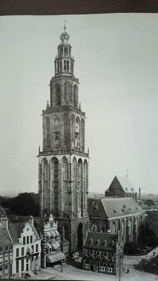 Martinitoren Groningen, 1920