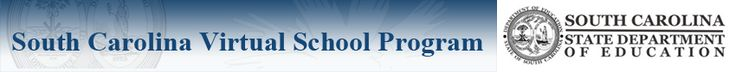 The South Carolina Virtual School Program (SCVSP) is a FREE online learning program for students in grades 7-12 who attend a public, private, or home school in South Carolina. There are no limits on the units of credit a student may earn in one year or towards a high school diploma. The SCVSP is a program; it is not a school. The SCVSP does not award diplomas. Students that take courses with the SCVSP will earn a diploma from the school where they are enrolled.