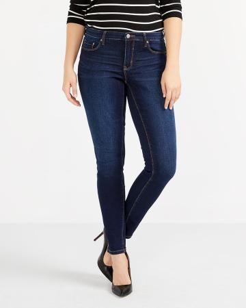 The Petite Insider Dark Wash Skinny Jeans - New
