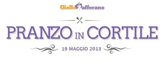 Domenica 19 Maggio 2013: il #Raduno di #GialloZafferano, un pranzo in cortile con tutta la community del sito di cucina più amato in #Italia!  Info per partecipare #RadunoGZ :  http://blog.giallozafferano.it/giallofest/