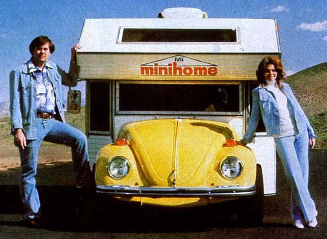 mini motorhome | VW-based mini-motorhomes were being manufactured by a small shop in ...