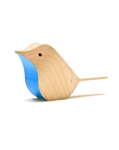 Bird | Sycamore | Blue | Matt Pugh - Modern British Design