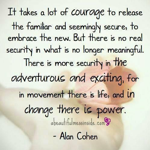 The affect of courage as a