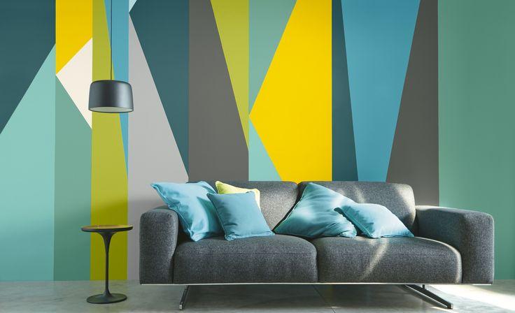 Jouez avec la #peinture #fluo  http://www.castorama.fr/store/pages/idees-decoration-facile-jouer-peinture.html