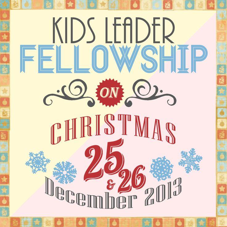 2013 Christmas Fellowship Poster