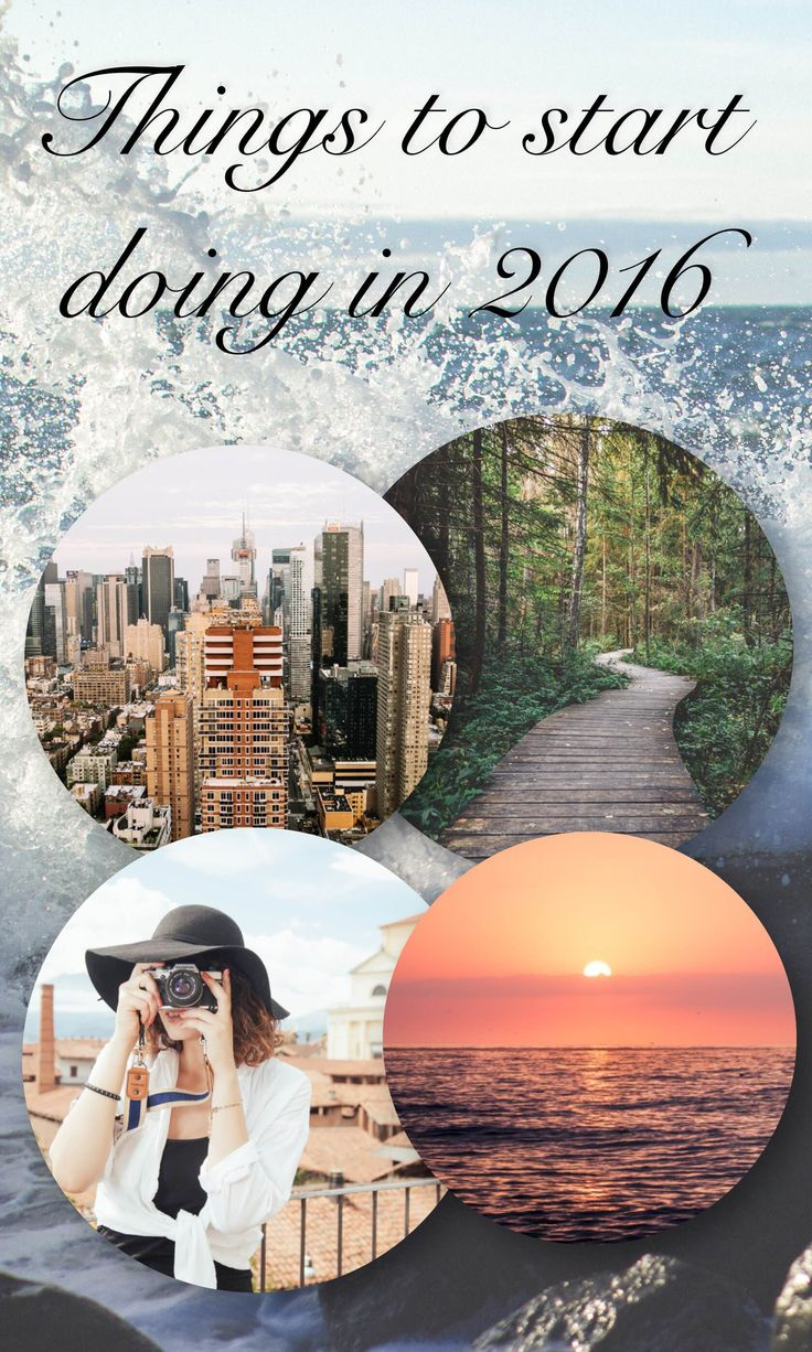 Things to start doing in 2016 - Hola Thea