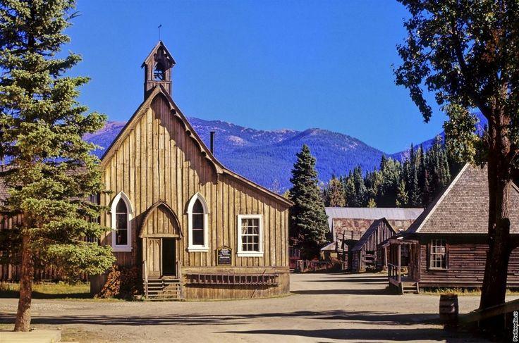 Kanada, Britská Kolumbie, Barkerville