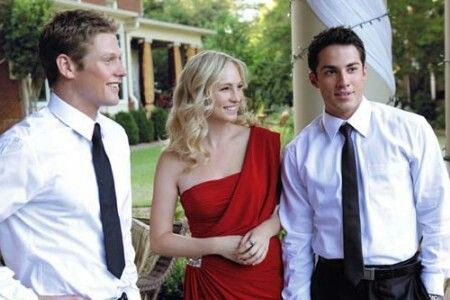 Zach Roerig, Candice Accola and Michael Trevino