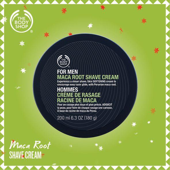 Maca Root Shave Cream