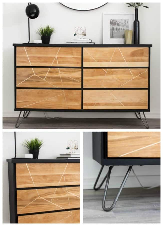 Modern Style Diy Dresser Makeover Project Love Create Celebrate