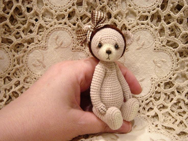 Amigurumi Crochet Patterns Teddy Bears : Best crochet mini bears images crochet