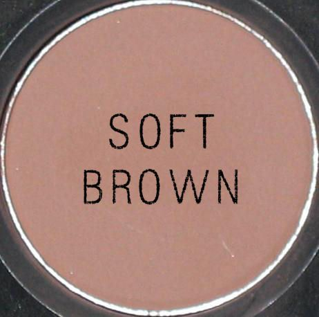 MAC Soft Brown eyeshadow.. my everyday secret shade....