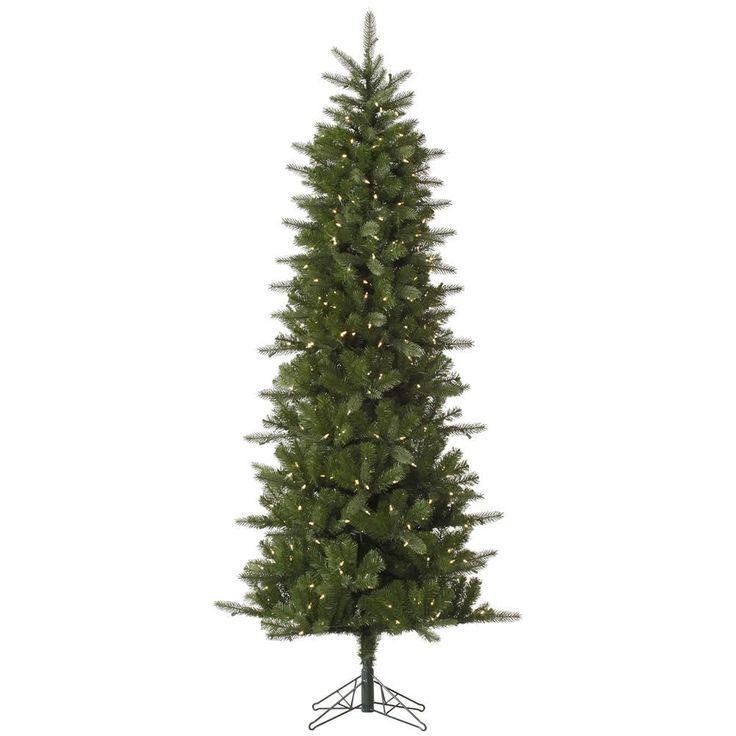 Vickerman 6.5-foot Carolina Pencil Spruce Tree with 350 Warm White LED Lights